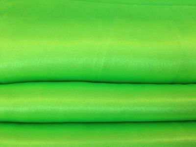 Dress Satin Fluorescent Lime