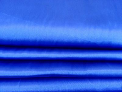 Dress Satin Royal Blue