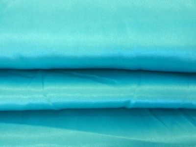 Dress Satin Turquoise