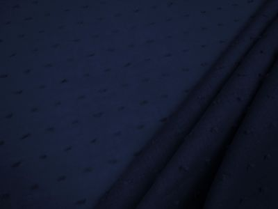 Cotton Swiss Dotted Voile Navy C298