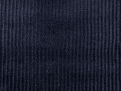 Navy Corduroy Fabric C3407