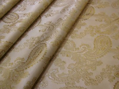 Jacquard Lining Light Gold C425 Col 3