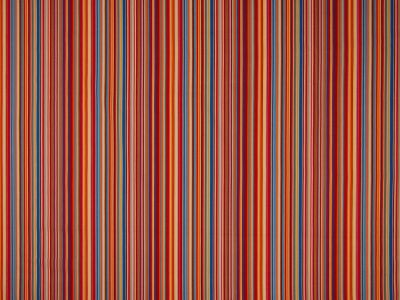 Summer Stripe Poplin Terracotta Blue C462