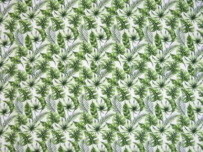 Supersoft Stretch Palm Leaves Green C497