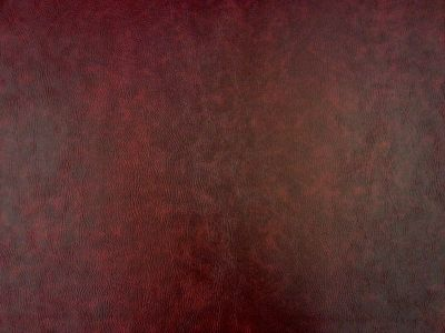 Flame Retardant Wine Faux Leatherette Fabric