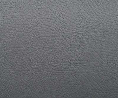 Flame Retardant Grey Faux Leatherette Fabric
