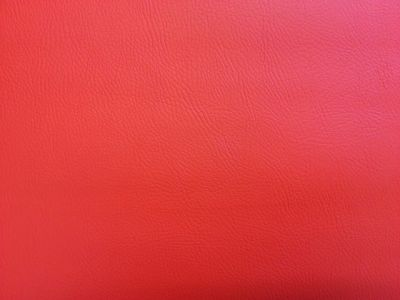 Flame Retardant Faux Leatherette Red