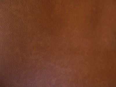 Flame Retardant Tan Faux Leatherette Fabric