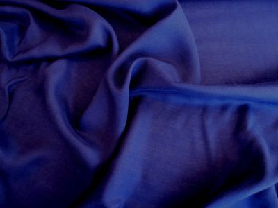 Plain Viscose Navy Blue  Sample