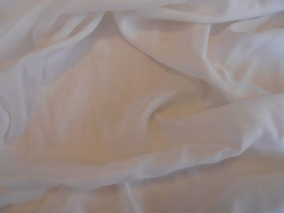 Plain Viscose White