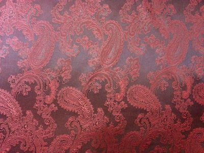 Jacquard Lining Red