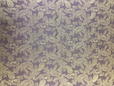 Jacquard Lining Purple/ Gold Col 27