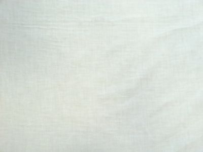 Plain White Cotton Voile