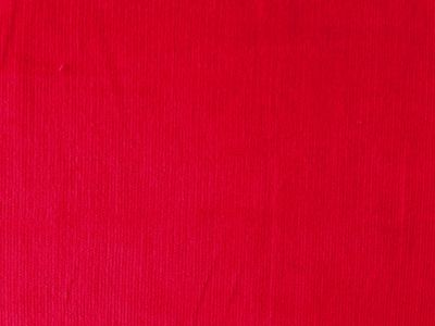 Red Stretch Needlecord Fabric C6624