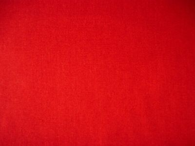 Plain Cotton Poplin Red Scarlet CP0001