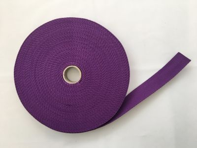 Cotton Webbing Purple 089