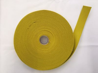 Cotton Webbing Yellow 052