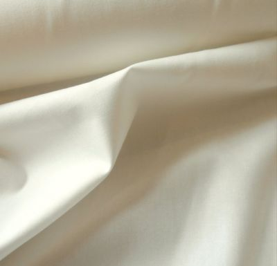 Plain Cotton Poplin Ivory CP0001