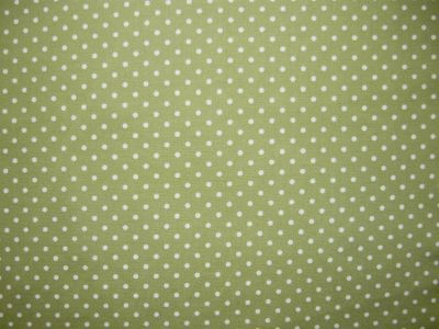 Spotty Cotton Poplin Green CP0009