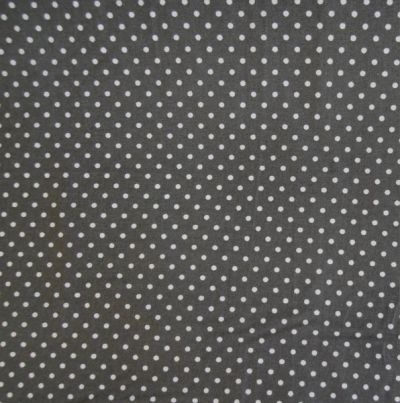 Spotty Cotton Poplin Grey CP0009