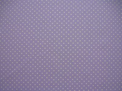 Spotty Cotton Poplin Lilac CP0009