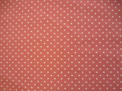 Spotty Cotton Poplin Rose CP0009