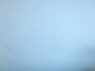 Spotty Cotton Poplin Powder Blue CP0009