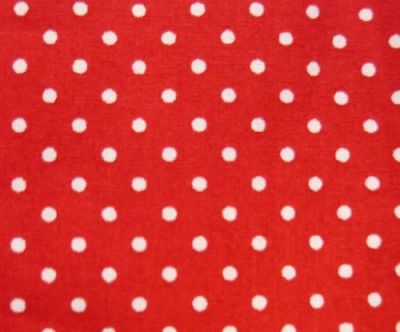 Spotty Cotton Poplin Red