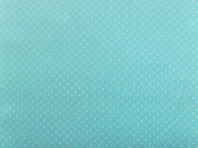 Spotty Cotton Poplin Sky Blue CP0009