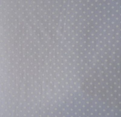 Spotty Cotton Poplin White CP0009