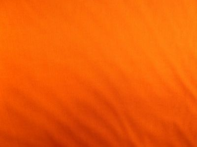 Plain Cotton Poplin Orange CP0001