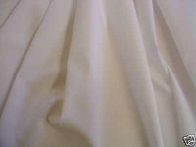 Extra Wide Sheeting Fabric Cream