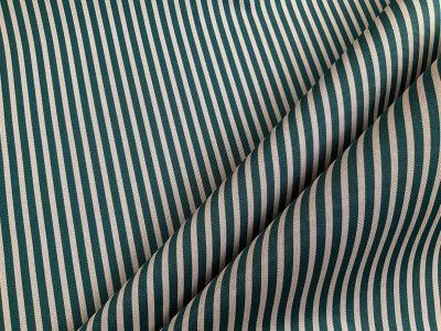 Green Sea stripe waterproof outdoor fabric C585