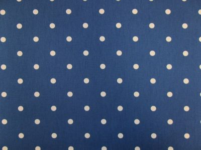 Clarke and Clarke Dotty Denim