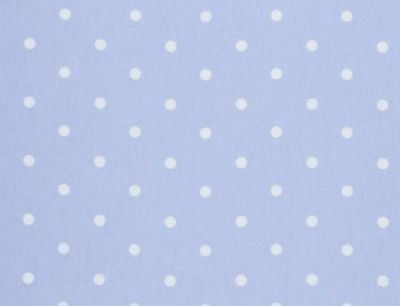 Clarke and Clarke Dotty Powder Blue