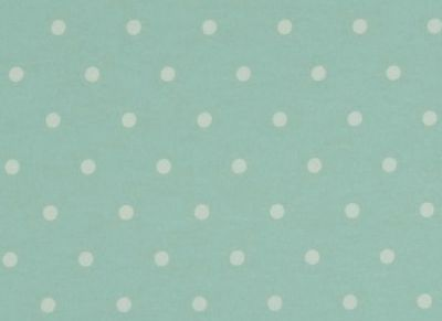 Clarke and Clarke Dotty Seafoam
