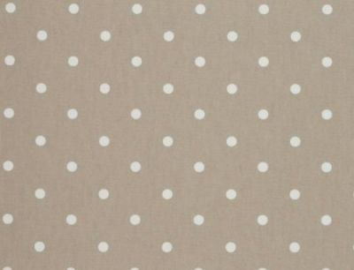 Clarke And Clarke Dotty Taupe PVC