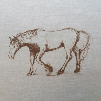 Dream Horses Filly Cushion Panel 18