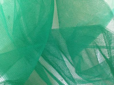 Dress Net Forrest Green