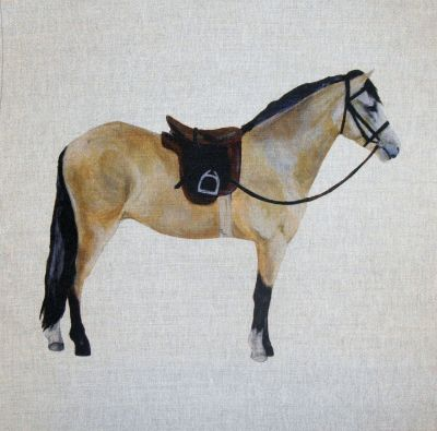 Dun Horse Cushion Panel 18