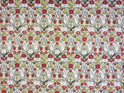 Lizzie Floral Cotton Red E13