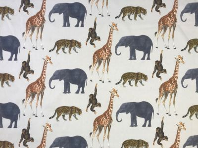 Safari Animals Beige E145