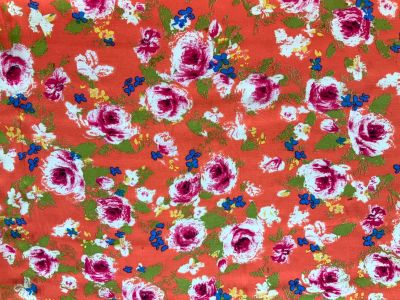 Vibrant Rose Viscose Coral Tex Ex 2250