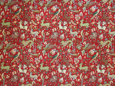 Fauna Tapestry Red E53