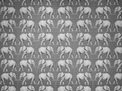 Elephant Tapestry Grey R2