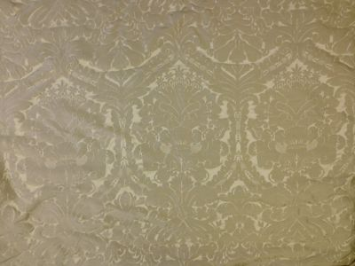 Faux Silk Damask Taupe