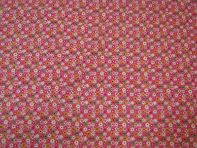 Flower Power Needlecord Pink I123