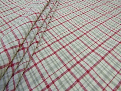 French Country Check Red A140