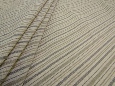 French Country Stripe Grey A136