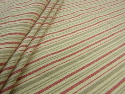French Country Stripe Red A137
